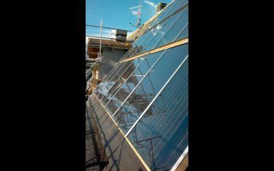 Impianto solare termico Aosta