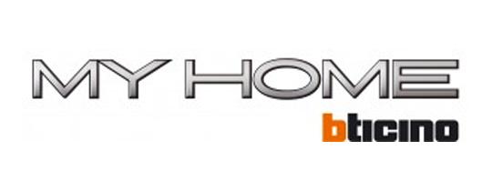 logo MY HOME BTICINO