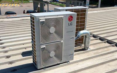 Impianto climatizzazione TotalErg Pavia